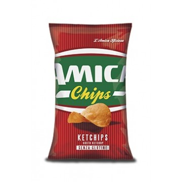 Amica Chips ORIGINALE ketchup g 25x28 pz