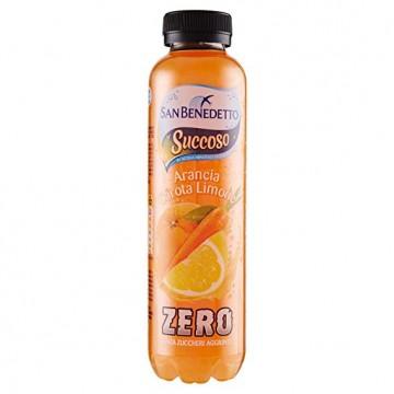 SAN BENEDETTO SUCCOSO ZERO - ACE ml 400x12 pet