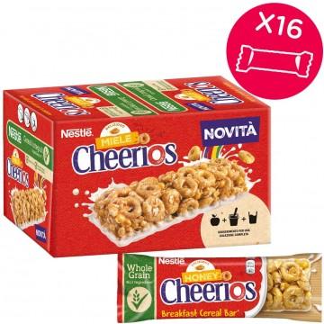 CHEERIOS barrette cereali e miele g 22x16 pz
